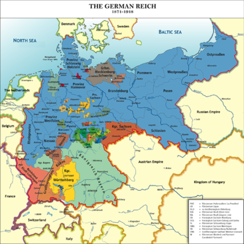 Early Formation of Germany