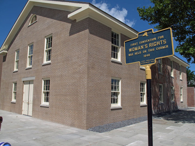 First Women's Rights Convention in Seneca Falls, New York