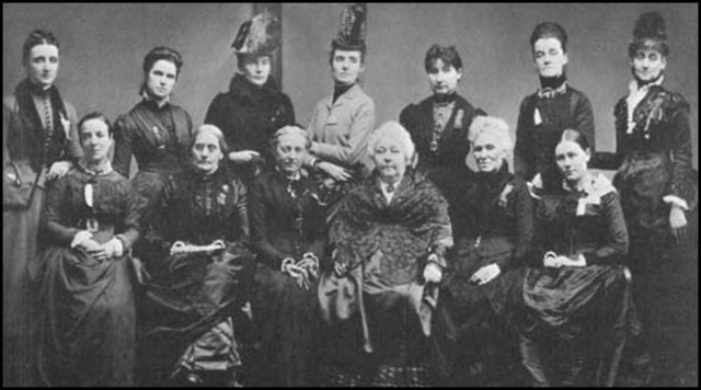 Fouding of National Woman Suffrage Association