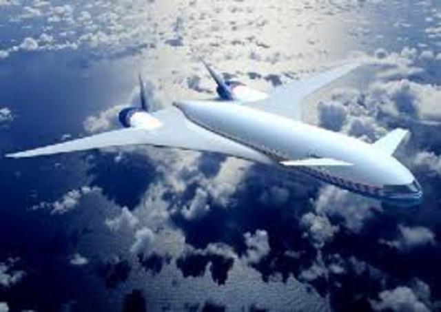 Boeing Sonic Cruiser ideas made