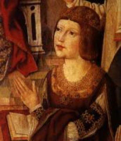 Isabella I born