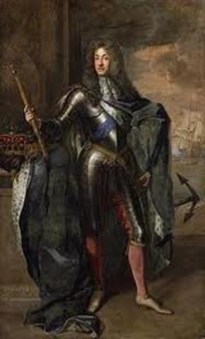 Glorius Revolution in England