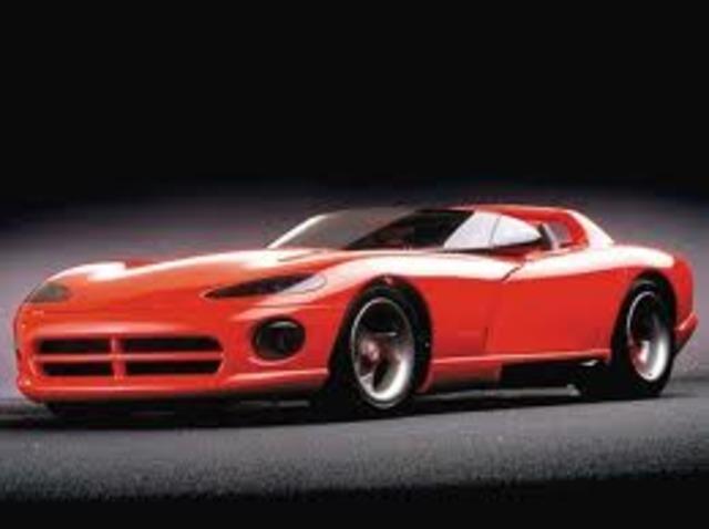 History Of Dodge Vipers Timeline Timetoast Timelines