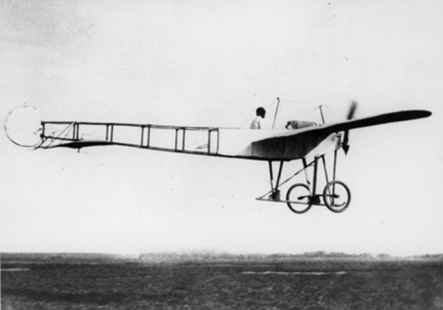 First Plane was Flown