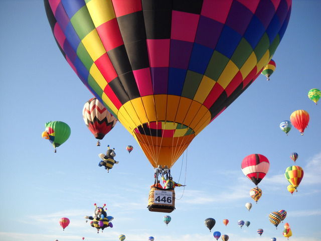First Hot Air Ballons were Invented