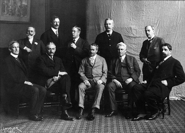 The Ten American painters
