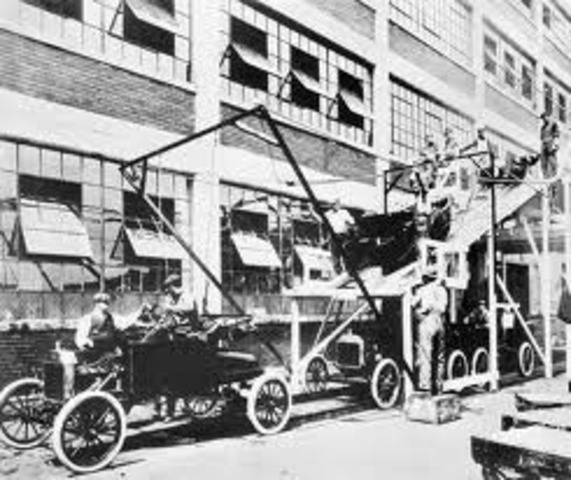 Henry Ford Creates an Assembly Line