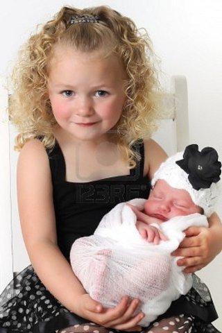 El nacimiento de su hermana Isabel