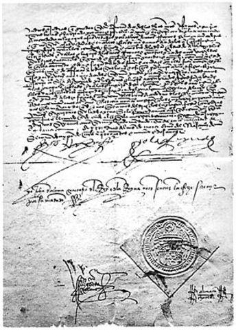 Alhambra Decree issued