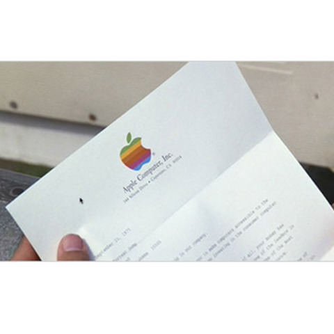Lt. Dan Invests in Apple
