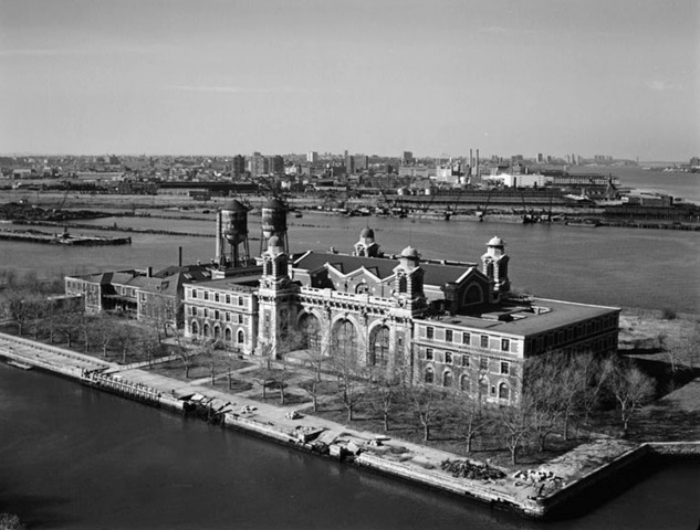Ellis Island is opened in New York.