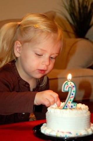 Su segundo cumpleaños