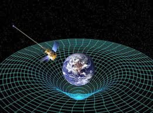 Albert Einstein presents a trailblazing model of gravitation