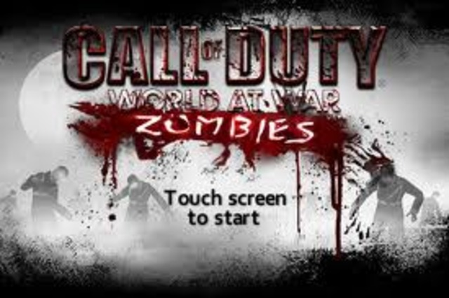 Call of Duty World War Zombies