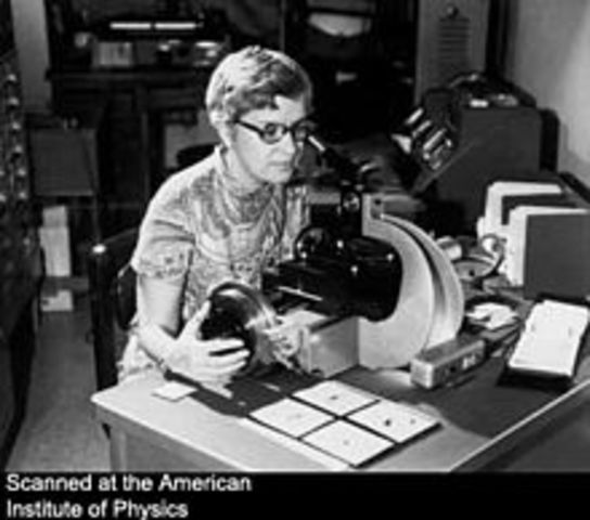Vera Rubin and Kent Ford