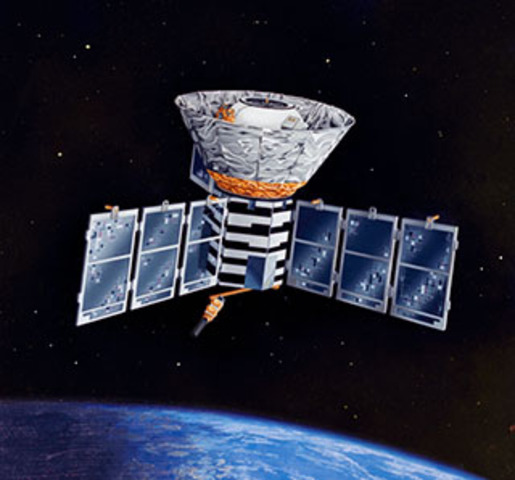 The COBE satellite