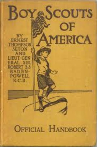 Boy Scouts and Campfire Girls are founded