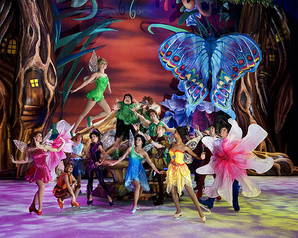 TinkerBell comes to life in Peter Pan
