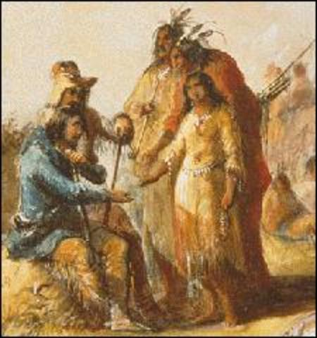 First offical American council with Western Native Americans