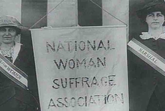 National Woman Suffrage Association is created