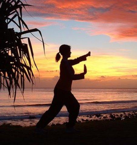 Juliana did some courses - Tai Chi Chuan, Kong Fu and African Dance
