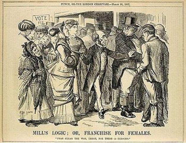 Civil War- Women rights put aside.
