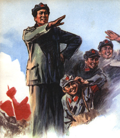 Mao Zedong Leads Long March