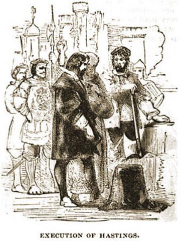 William Hastings -- Beheaded