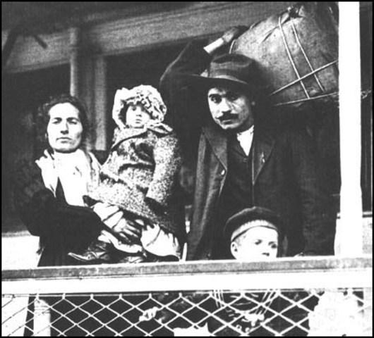 Movement of Italians (new immigrants)