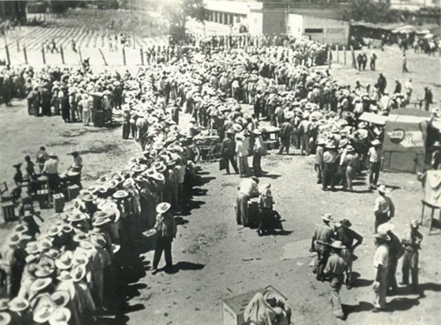 Hispanics movement (Braceros) due to WWII