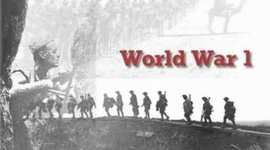 World War I/ All quiet on the Western Front By Nelson G. timeline