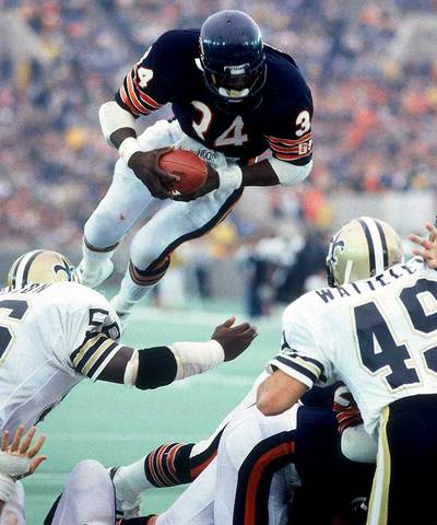 The Life and Times of Walter Payton timeline | Timetoast ...Walter Payton Jumping Touchdown