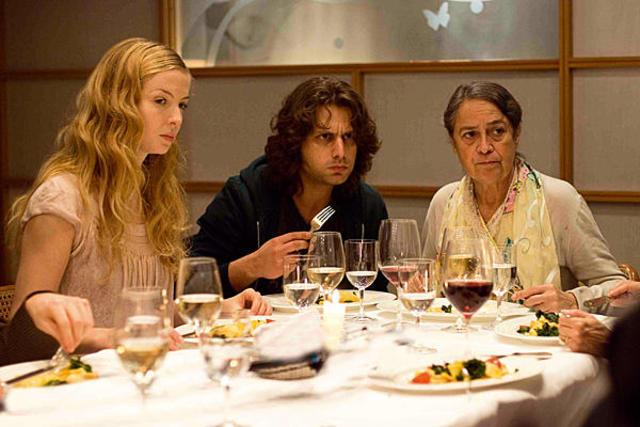 Essen mit Nadines Familie im Restaurent