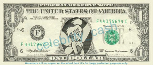 TinkerBell gets cash