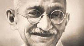 Life of Mahatma Gandhi timeline
