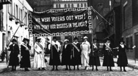 Woman Suffrage Movement timeline