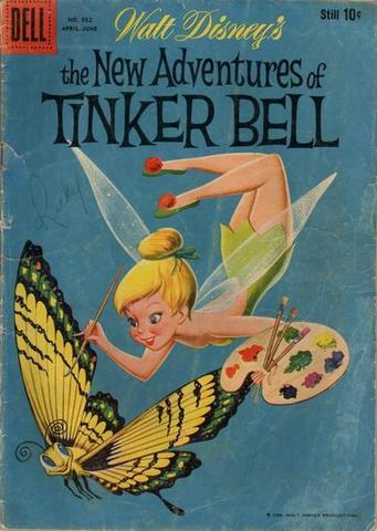 TinkerBell gets a Comic Book