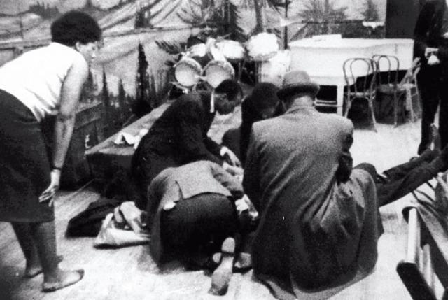 Malcolm X shot