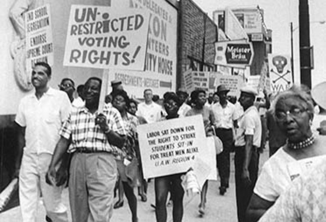 Voting rights act passed