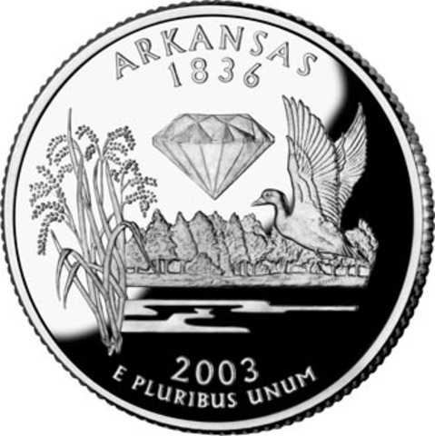 Arkansas 25th State
