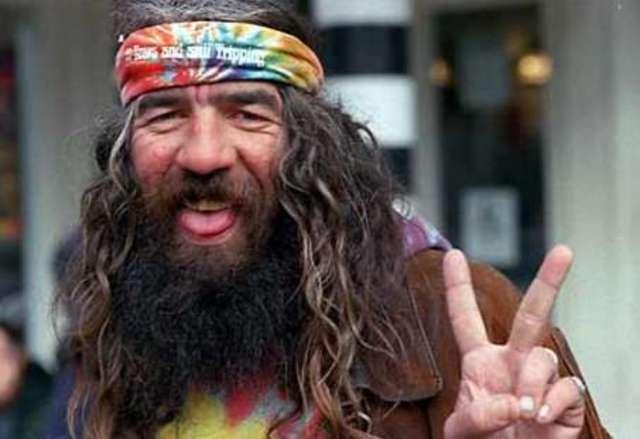 You dirty hippie