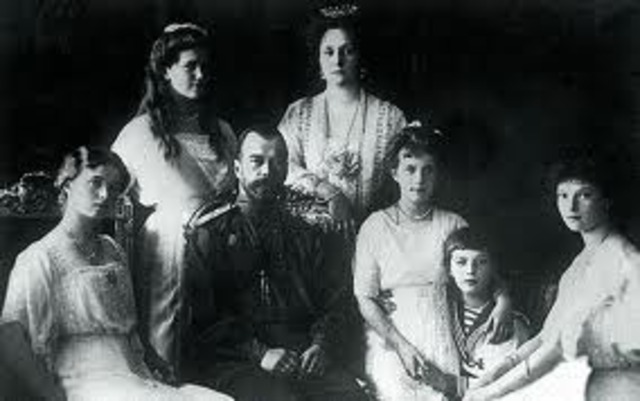 Russian Czar Nicholas II and His Family are Killed