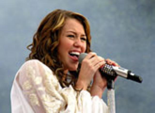 Hannah Montana Comes on TV