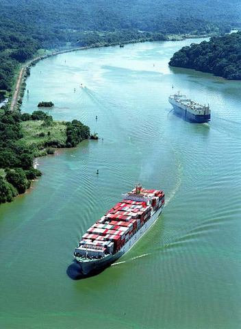 The Panama Canal completed