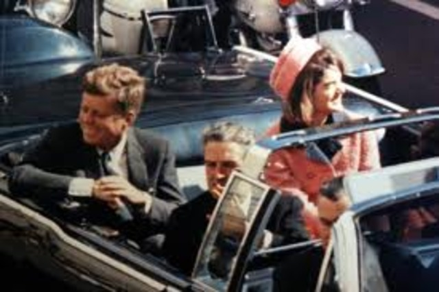 John F. Kennedy is Assassinated