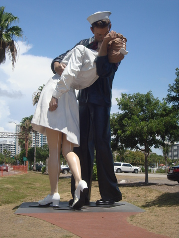 Statue at The Marina Jack