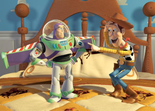1st CGI Film (Toy Story)