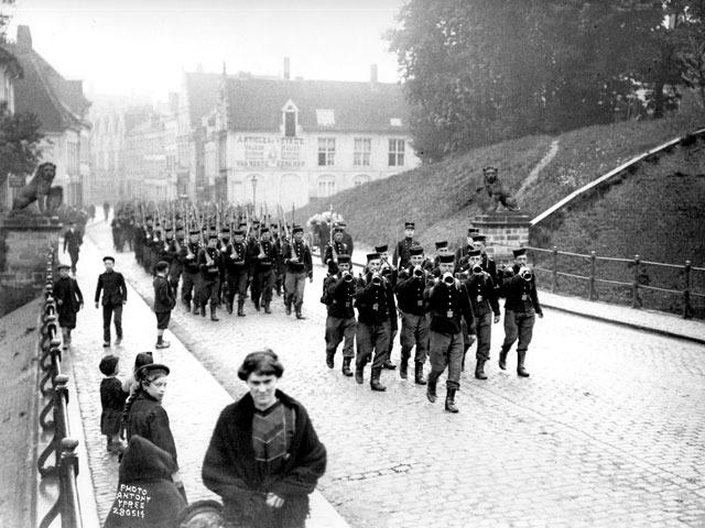 Germany invasion Beligum