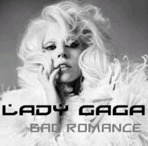 'Bad Romance' by Lady Gaga