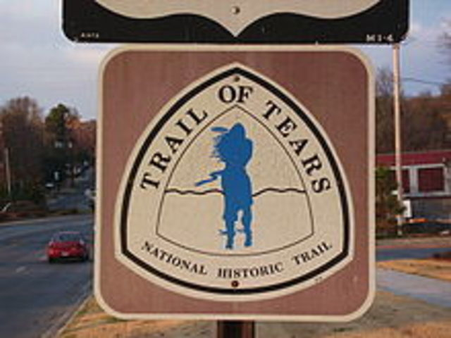 Treaty of New Echota/Trail of Tears